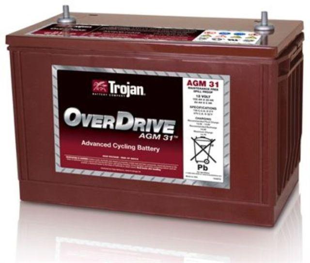 batteries de d marrage et d charge profonde 31 agm overdrive batterie portneuf. Black Bedroom Furniture Sets. Home Design Ideas