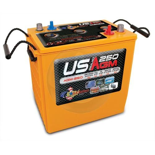 batteries d charge profonde industrielles usagm250 batterie portneuf. Black Bedroom Furniture Sets. Home Design Ideas